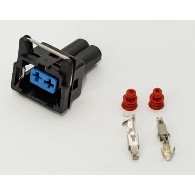 разъем моторчика омывателя/датчика коленвала (с пинами) электрика  для Форд Транзит