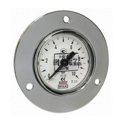 манометр 0-10 атм (фланцевое крепление, штуцер сзади) пневмоподвеска  для Форд Транзит