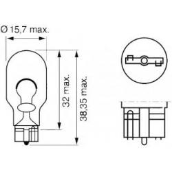 лампа в стоп-сигнал фары/фонари  для Форд Транзит