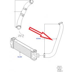 Патрубок интеркуллера 2.4L (куллер-впускной)