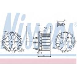 мотор отопителя электрика  для Форд Транзит