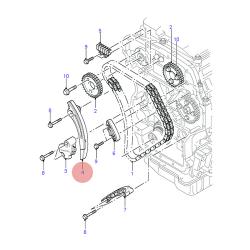 направляющая натяжителя цепи -06 грм/распредвалы  для Форд Транзит