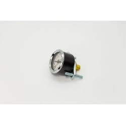 манометр 0-10 атм (штуцер сзади со скобой крепления) пневмоподвеска  для Форд Транзит