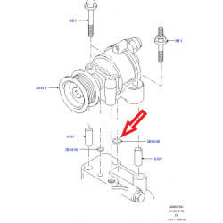 Уплотнительное кольцо прокладки помпа/вакуумный насос RWD №2