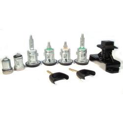 Комплект личинок 06-13 (4 двери-капот-бак-зажигание (2 рогатины)